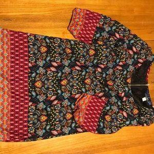 Multi pattern spring dress!